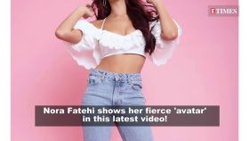 Nora Fatehi's fierce 'avatar' in this video is a must watch!