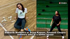 Parineeti Chopra reveals who is a better kisser, Sidharth Malhotra or Arjun Kapoor