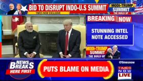Plot to disrupt to Trump's India visit: Intel report