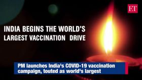 PM Modi cautions against 'propaganda' as he launches India's COVID-19 vaccination drive