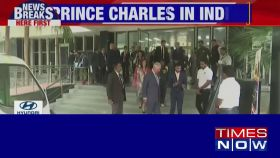 Prince Charles arrives in India on 2-day visit