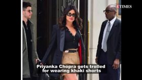 Priyanka Chopra gets trolled for wearing 'khak'i shorts