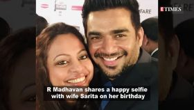 R Madhavan wishes wife Sarita in an adorable birthday post; says, 'we so shamelessly lean so hard on you'