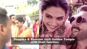 Ranveer Singh-Deepika Padukone offer prayers at Golden Temple with families; Marathi singer Geeta Mali dies in accident, and more…