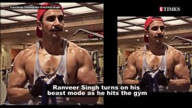 Ranveer Singh flaunts his killer biceps, returns to 'Simmba' avatar