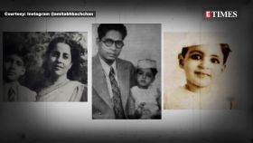 Rare pic of 10-year-old Amitabh Bachchan with mother Teji Bachchan and brother Ajitabh Bachchan goes viral