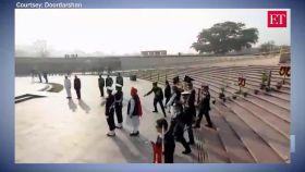 Republic Day 2020: PM Narendra Modi salutes martyrs at National War Memorial