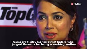 Sameera Reddy slams haters who judged Kareena Kapoor Khan for being a working mother
