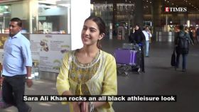 Sara Ali Khan rocks this all black athleisure look; Lara Dutta shares gem of a throwback pic with Dia Mirza, Priyanka Chopra, and more…