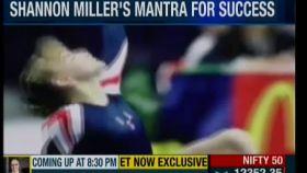 Seven-time Olympian Shannon Miller is preparing for Mumbai Marathon