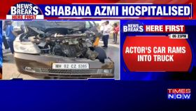 Shabana Azmi injured in road accident on Mumbai-Pune Expressway