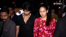 Shahid Kapoor and Mira Rajput step out in style for a lunch date
