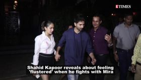 Shahid Kapoor opens up on having fights with Mira Rajput