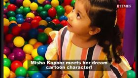 Shahid Kapoor's daughter Misha Kapoor is obsessed with 'Peppa Pig' and these pictures are proof!