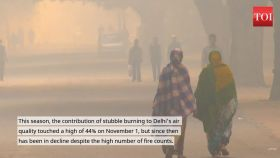 Share of farm fires in bad air may fall to 13%: SAFAR