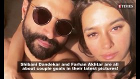 Shibani Dandekar and Farhan Akhtar look 'wedding ready' in their latest pictures!