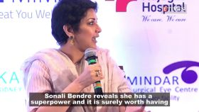 Sonali Bendre reveals she has a superpower and it is surely worth having
