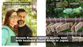 Sonam Kapoor enjoys getaway with husband Anand Ahuja in Japan