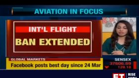 Suspension of international flights from India extended till 31st August, says DGCA