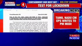 Tamil Nadu CM writes to PM Modi, seeks fund to combat COVID-19