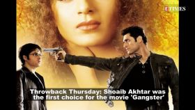Throwback Thursday: Pakistani pacer Shoaib Akhtar was the first choice for the movie 'Gangster'