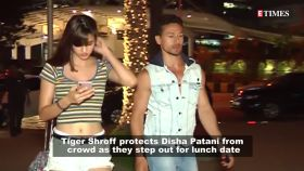 Tiger Shroff protects Disha Patani from crowd; Shahid Kapoor opens up on having fights with wife Mira, and more