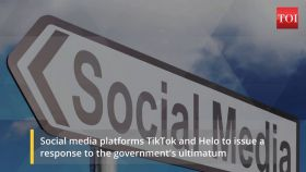 TikTok and Helo apps to issue response to govt's ultimatum today