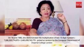 Today in History: Shakuntala Devi mentally multiplies two 13-digit numbers in 28 sec