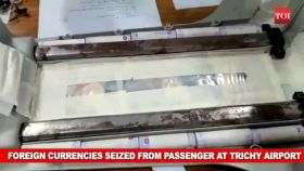 Trichy: Foreign currencies seized from passenger at airport