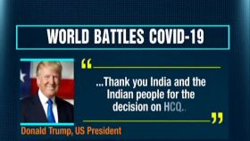 Trump thanks India on HCQ decision