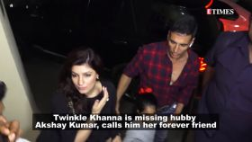 Twinkle Khanna's latest post for hubby Akshay Kumar is all about couple goals!
