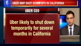 Uber likely to shut down temporarily in California over new driver ruling