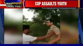 UP: PAC jawan thrashes bike rider in road rage incident, video goes viral
