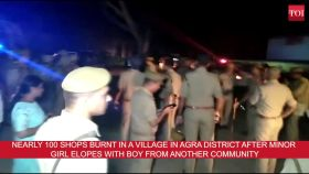 Uttar Pradesh: Arson in Agra after minor girl elopes with boy from another community