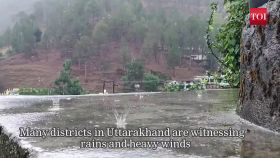 Uttarakhand: rain alert issued in parts of the state