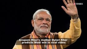 Viral video: When Anupam Kher's mother Dulari Kher predicted Modi win