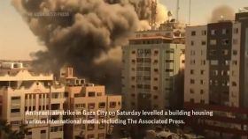 Watch: Israeli airstrike in Gaza destroys building housing offices of Associated Press, other media outlets