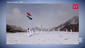 Watch: ITBP's Himveers celebrate Republic Day 2020 at 17,000 feet, in minus 20 Degrees