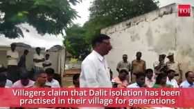 Why this Karnataka village barred entry of Dalit MP A Narayanaswamy