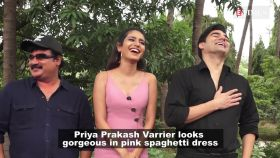 'Wink girl' Priya Prakash Varrier looks chic in spaghetti dress, flaunts her stylish tattoo