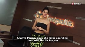 Ananya Panday says she loves spending time with Kartik Aaryan