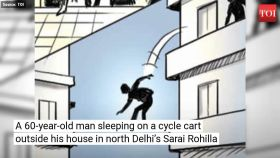 Delhi: 60-year-old man dies as 90 kg man falls on him
