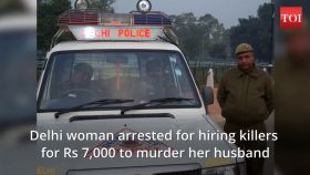 Delhi: Woman hires killers to murder husband, arrested