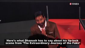 Dhanush on fans' reactions to his lip-lock scene in 'The Extraordinary Journey of the Fakir'