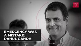 Rahul Gandhi on Emergency: It was a mistake