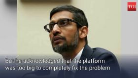 YouTube working on removing harmful content: Pichai