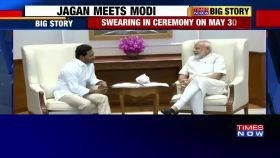 YS Jaganmohan Reddy meets Narendra Modi, invites PM for swearing -in ceremony